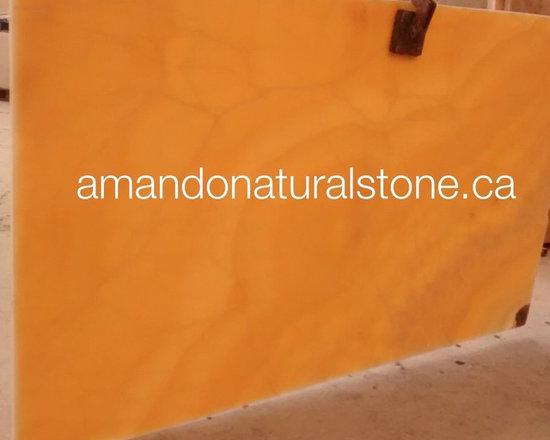 Natural Stone Amber Onyx, White Onyx & Cream Onyx   - Beautiful, Elegant  & High -