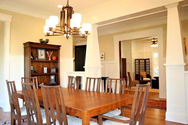 Peachtree Park-Custom Home-Atlanta traditional-dining-room