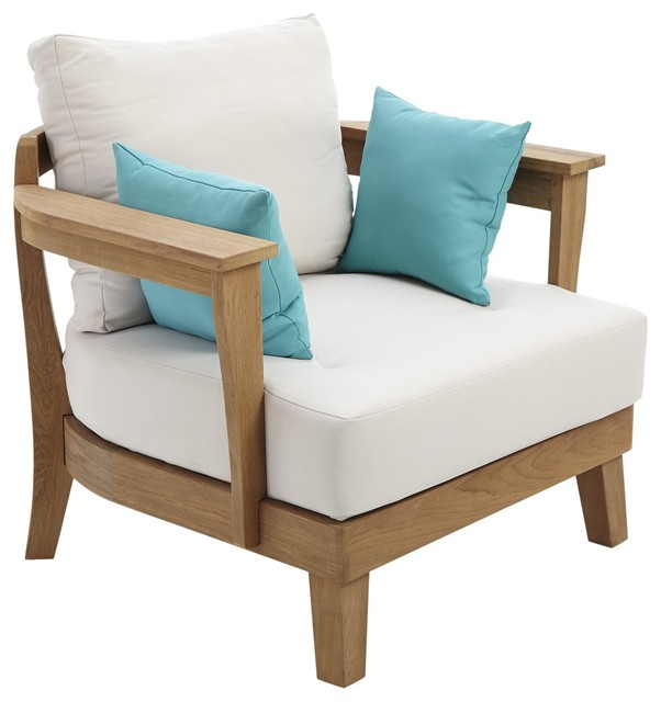 Roscana Wooden Coffee Chair Part Of Set Contemporary Garden Lounge Chairs