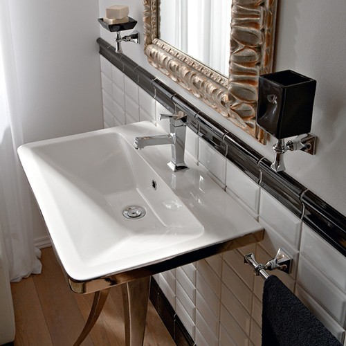 Butterfly Sink : Nameeks Butterfly Sink 4004 - Modern - Bathroom Sinks - by YBath