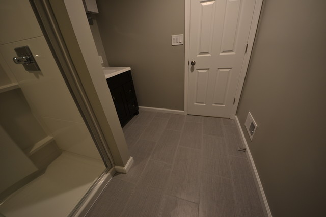 Finished Basement, Lutherville-Timonium, MD contemporary-bathroom