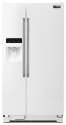 MSF21D4MDH 21 cu. ft. Side-By-Side Refrigerator with Gallon Size Door Bins  Brig contemporary-refrigerators-and-freezers