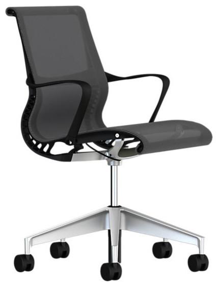 Setu Chair, Arms modern-task-chairs