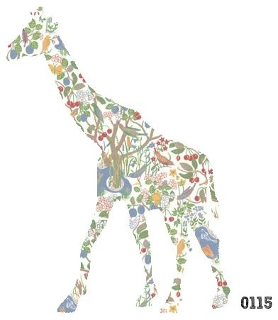 Giraffe Wall Decal contemporary-wall-decals