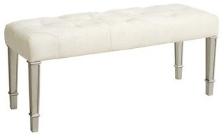 pier one bedroom benches hayworth ivory silver bench pier 1