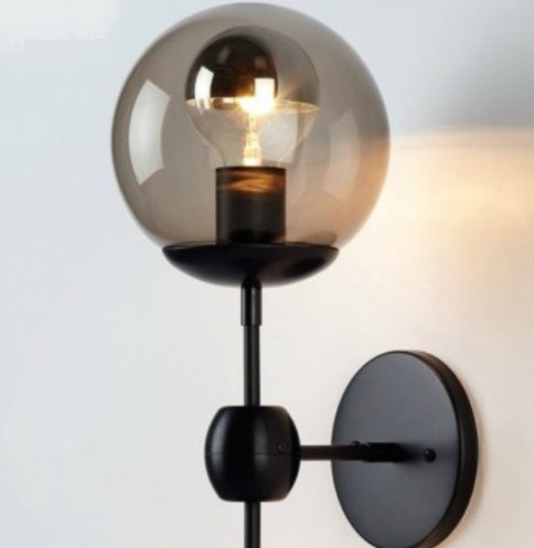 Round Ball Wall Lights : Antique Glass Ball Wall Sconce and Lights - Contemporary - Wall Sconces - new york - by PHOENIX ...