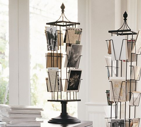 Tabletop Photo Carousel traditional-picture-frames