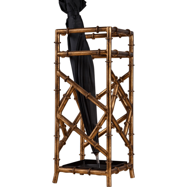 ... Iron Bamboo Umbrella Stand eclectic-coat-stands-and-umbrella-stands