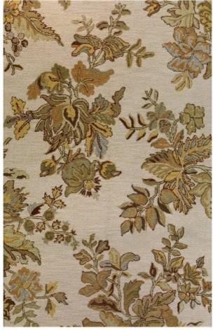 Bashian Valencia AL133 Area Rug - Ivory traditional-rugs