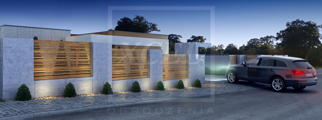 Contemporary Compound Wall Designs : Compound gates designs rural joy studio design gallery