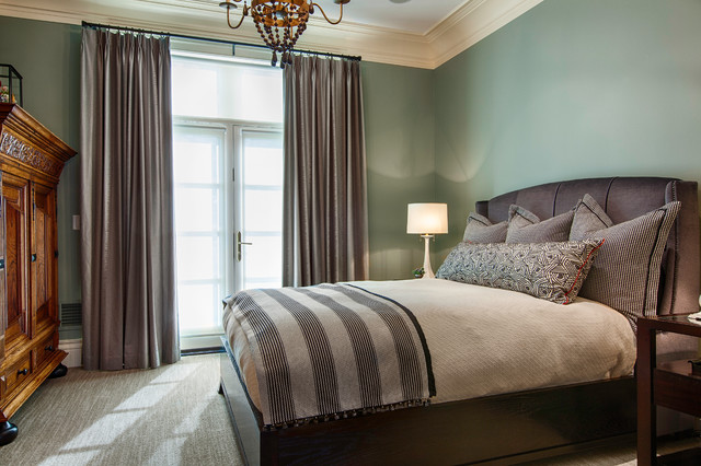 Rustic elegance transitional bedroom other metro for Rustic elegant bedroom designs