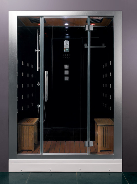 Ariel Platinum DZ972F8 Steam Shower modern showers