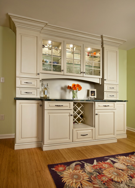 Custom Cabinetry with Glass Doors traditional-kitchen