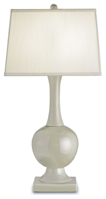 Currey & Company Downton Table Lamp in Pale Celadon table-lamps