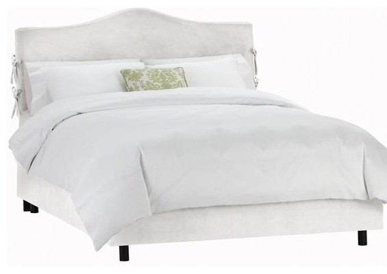 Custom Sawyer Upholstered Bed Traditional Beds