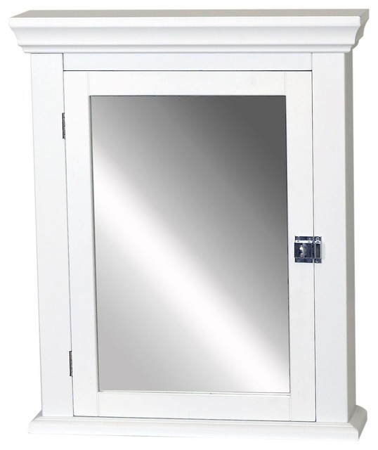 Whitehaus Double Two Sided Mirrored Door Medicine Cabinet (WHCAR-48-ALUM) - Contemporary ...