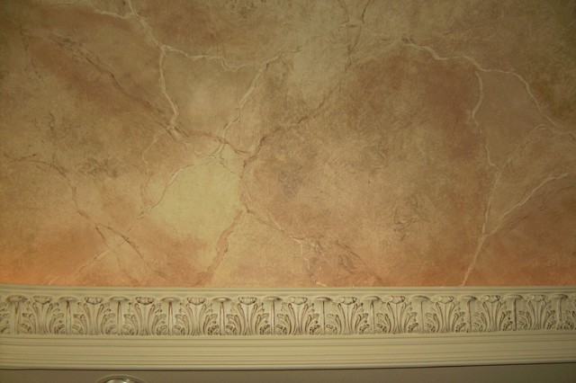 Marble Wall Paint : Faux marble mediterranean dallas by glen houston s