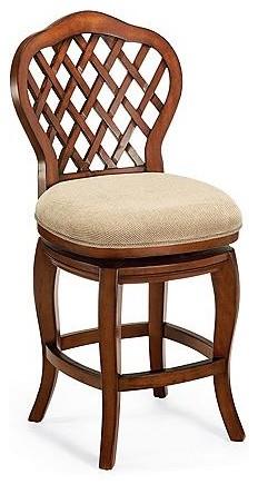 "Braxton Bar Height Bar Stool (30-3/4""H seat) traditional-bar-stools-and-counter-stools"
