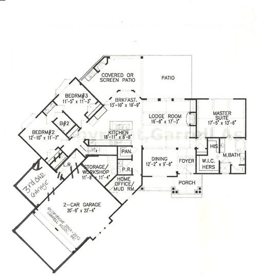 Please help critique this floor plan for Floor plan assistance