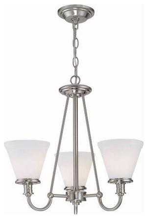 Bastien 3 Light Chandelier modern-chandeliers