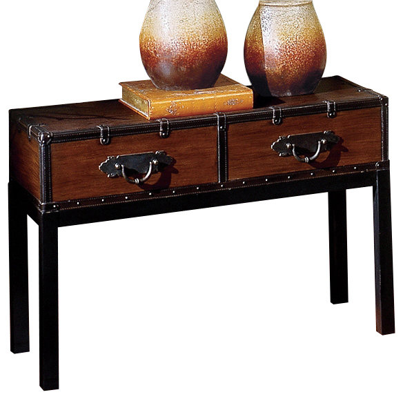 Steve Silver Voyage Sofa Table - Traditional - Console ...