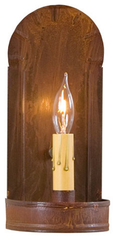 Fireplace Sconce, Rustic Tin - Farmhouse - Wall Sconces - by The Country Marketplace