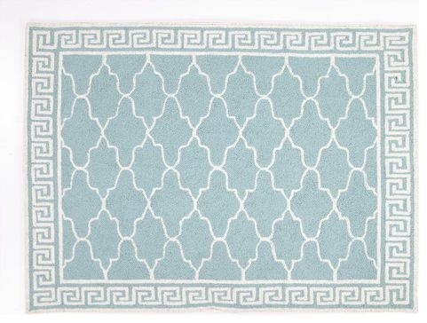 Blue Wilshire Rug eclectic rugs
