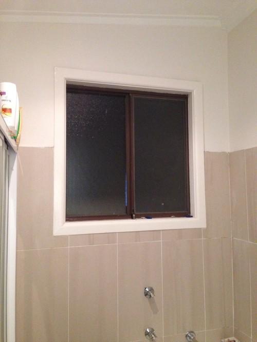 Bathroom Window Covering