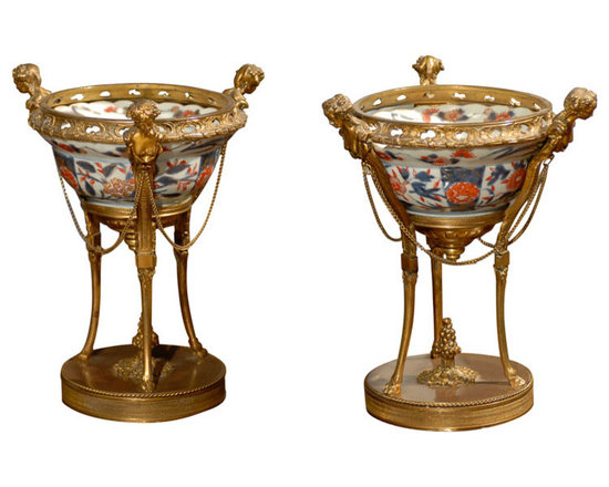 Current Inventory for Purchase - 18th Century Imari Bowls in 19th Century French Bronze Mounts