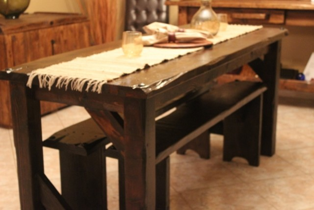 Medieval Collection DiningBreakfast Rustic Dining