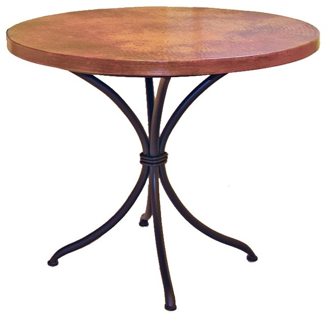 Italia Bistro Table With 36 Round Top Craftsman Side