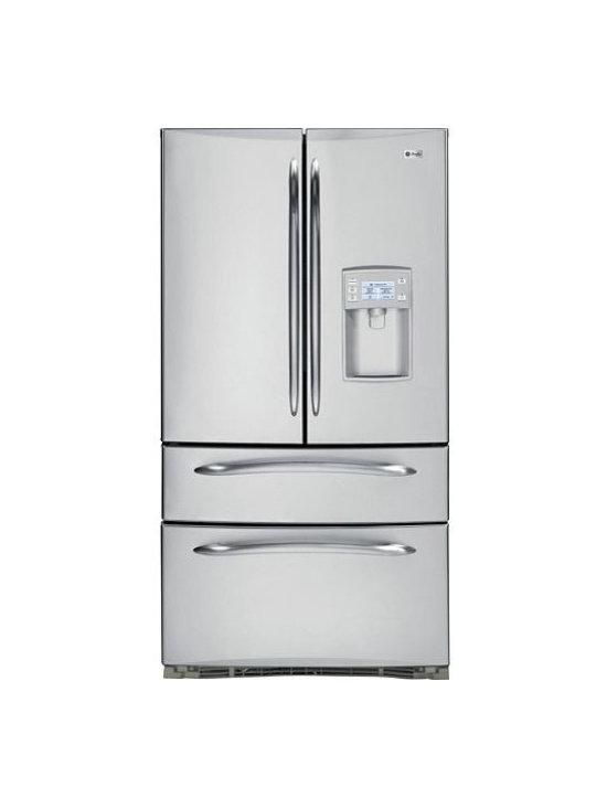 GE Profile French-Door Bottom Freezer Refrigerator -