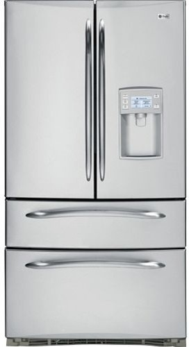 GE Profile French-Door Bottom Freezer Refrigerator contemporary refrigerators and freezers