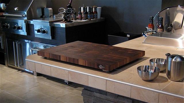 Butcher blocks contemporary-kitchen-countertops