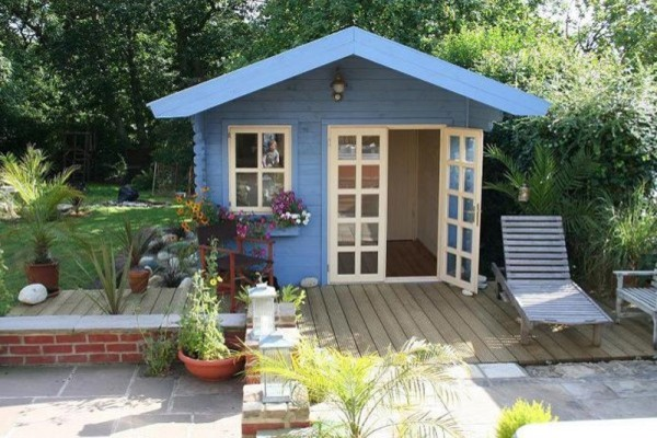 Wales garden shed traditional chicago by solidbuild inc for Traditional garden buildings