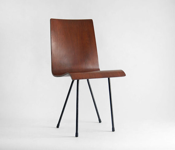 Vintage Bent Plywood Chair by Hindsvik modern-armchairs-and-accent-chairs