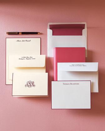 Rytex 25 Folded Notes/Plain Envelopes traditional-desk-accessories