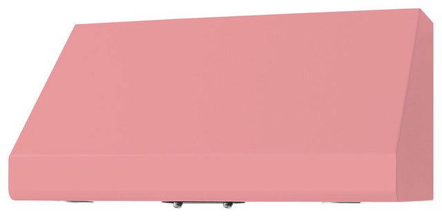 """36"""" Prizer Incline Hood in Light Pink (RAL 3015) modern-range-hoods-and-vents"""