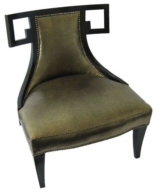 Used Baker Furniture Thomas Pheasant Greek Chair