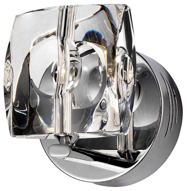 ET2 Lighting E30501-20 Neo Polished Chrome Wall Sconce contemporary-wall-sconces