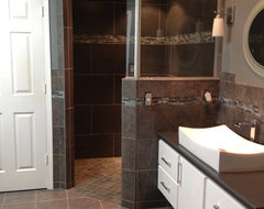 Donner Pass - Whole House Remodel - Craftsman - Bathroom - sacramento - by Landmark Builders