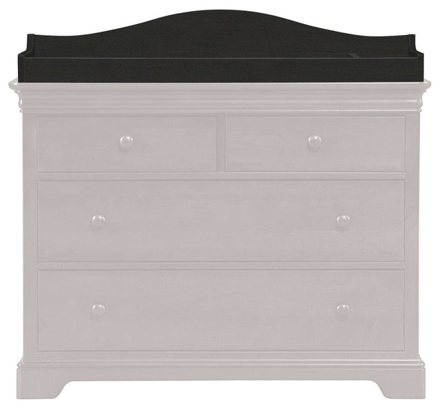 Changing Station - Graphite Standard Finish transitional-changing-tables
