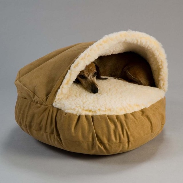 The Snoozer Luxury Cozy Cave Pet Bed contemporary-dog-beds