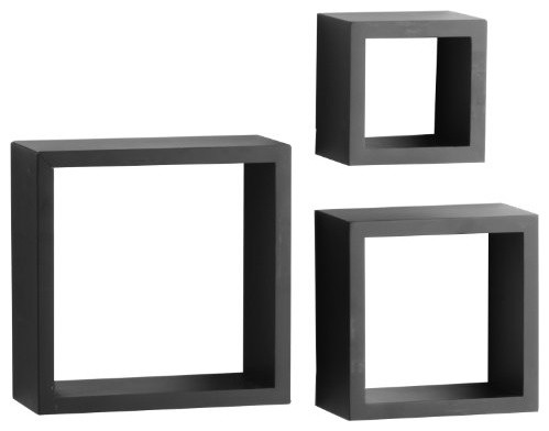 Shadow Box, Black - Modern - Display And Wall Shelves - by BuilderDepot, Inc.