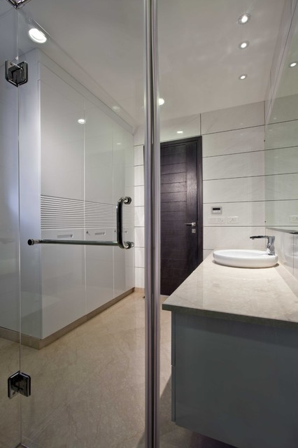 Ultra modern appartments in gk2 new delhi modern for Ultra modern bathroom