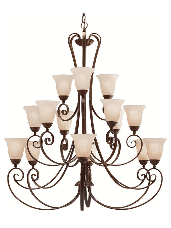 Grandiose Chandeliers - Willowmore - Chandelier 15Lt