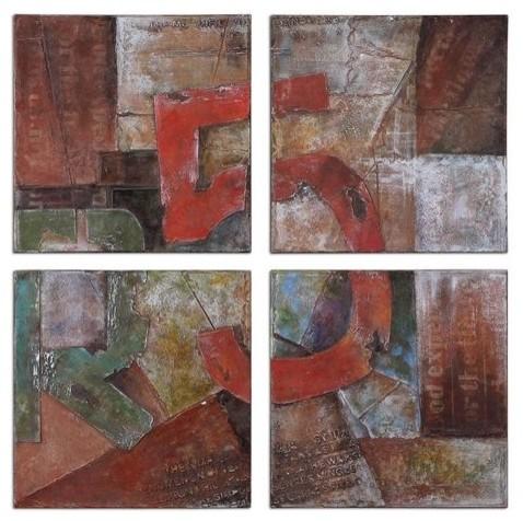 Uttermost Route 5 S/4 contemporary-artwork