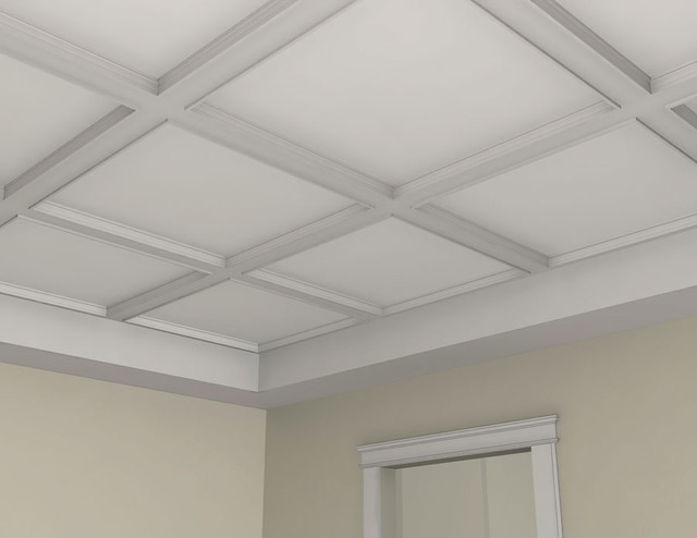 BM3004 - Interior Plaster Ceiling Beam - Molding And Trim - by Mouldex Exterior & Interior Mouldings