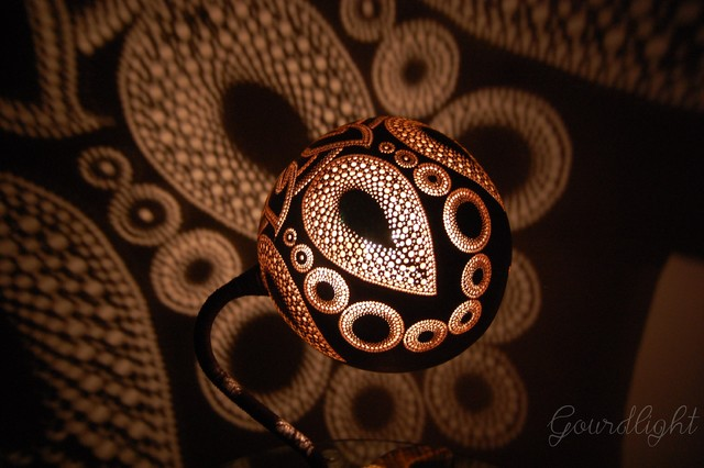 Gourdlight - Table lamp VI craftsman-table-lamps