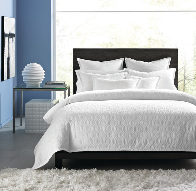 Hotel collection bedding ogee matelasse contemporary bedding